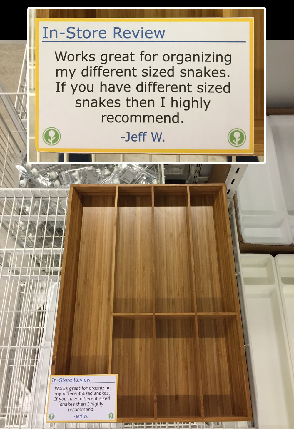 IKEA Has Been Trolled With Hilarious In Store Reviews UNILAD ikea55