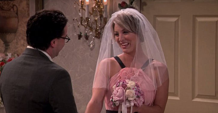 New Set Photos Released Of Leonard And Pennys Wedding On The Big Bang Theory UNILAD leonard penny WEB 26