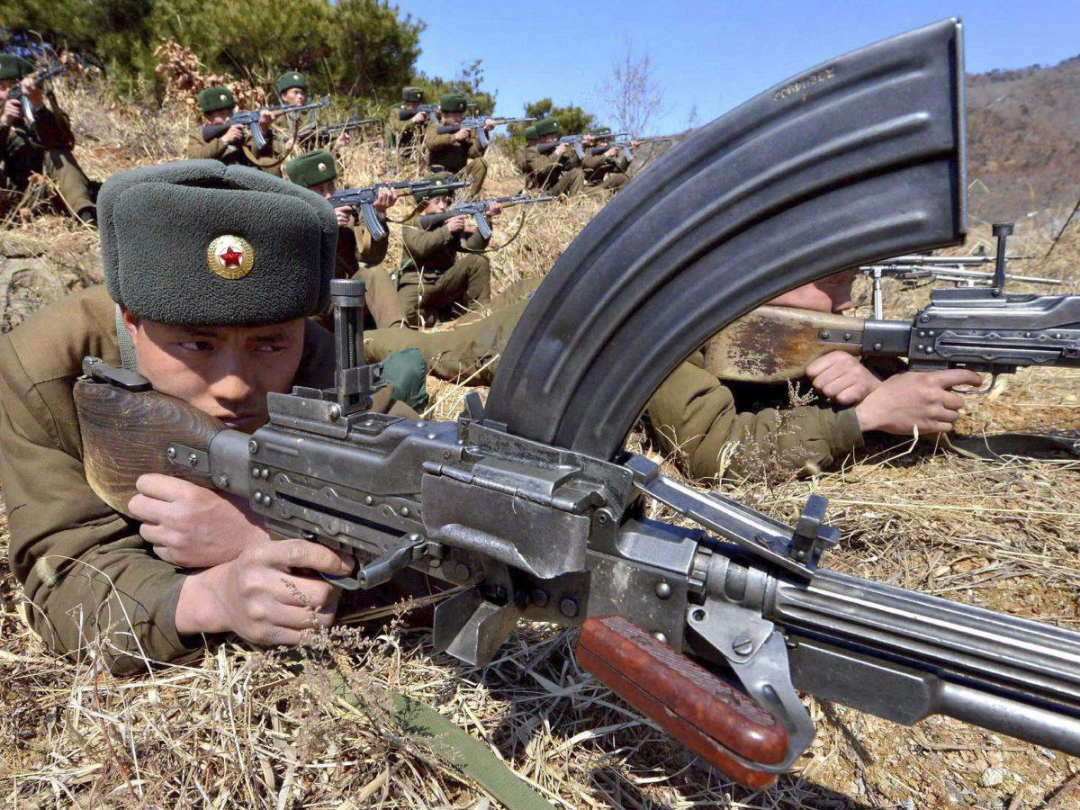 New Report Shows Just How Much Heat North Korea Is Packing UNILAD north korea military ground troops2