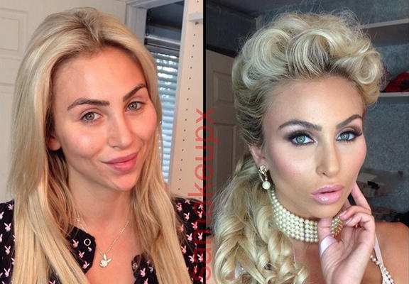 This Is What Porn Stars Look Like Before And After Make Up UNILAD porn star make up WEB6