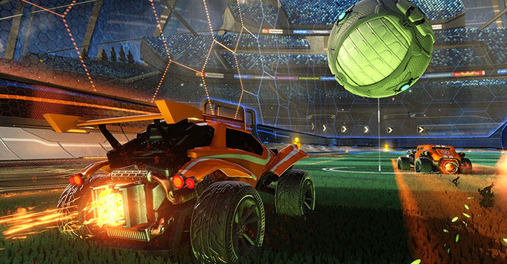 Real Football Commentators Dubbed Over Rocket League Is Stunning UNILAD rocket27