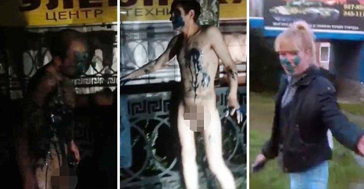P*ssed Off Taxi Drivers In Russia Force Fare Dodgers To Strip Naked UNILAD russian taxi 34