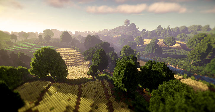 Some Heroes Have Recreated The Shire From The Lord Of The Rings In Minecraft UNILAD shire34
