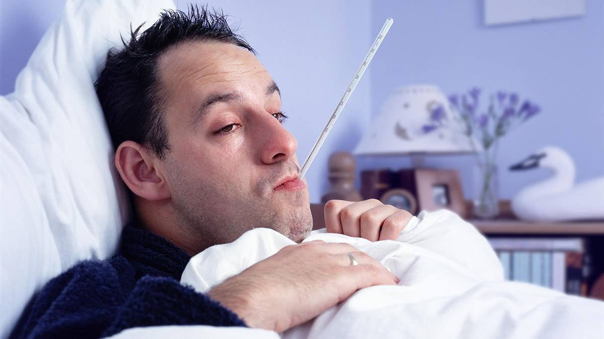 These Are The Most Popular Excuses For Calling In Work Sick UNILAD sick flu BC9098 0028