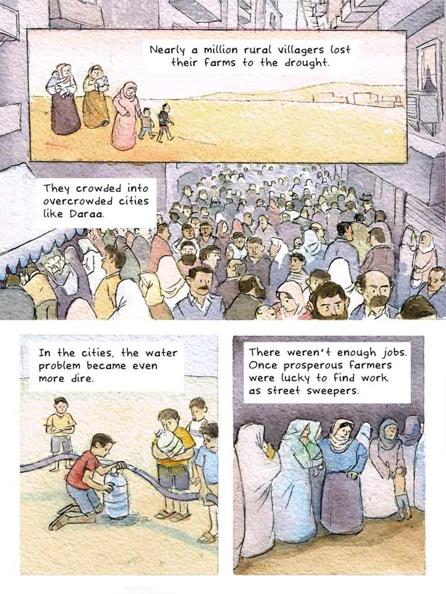 This Cartoon Succinctly Explains The Background To The Syrian Conflict UNILAD syria cartoon 46