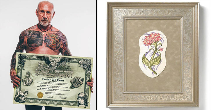 A Tattoo Artist Will Now Remove And Preserve Your Dead Relatives Body Art UNILAD tattoo removal WEB 24
