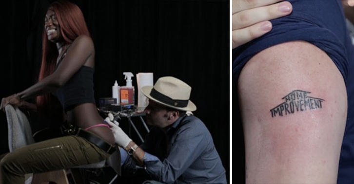 People Play Tattoo Roulette, Get Some Pretty Sh*tty Tattoos UNILAD tattoo roulette 42