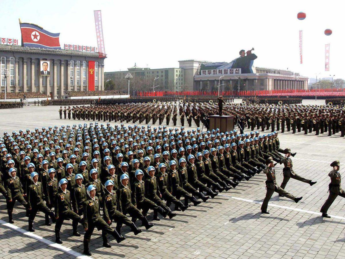 New Report Shows Just How Much Heat North Korea Is Packing UNILAD the largest part of the military is the korean peoples army ground force which includes about 1 million active personnel and millions more civilians who are effectively reservists2