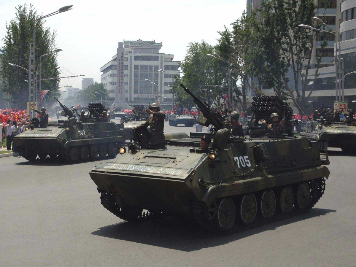 New Report Shows Just How Much Heat North Korea Is Packing UNILAD though the equipment is outdated north korea does possess some armoured vehicles which are largely copies of soviet or chinese made models5