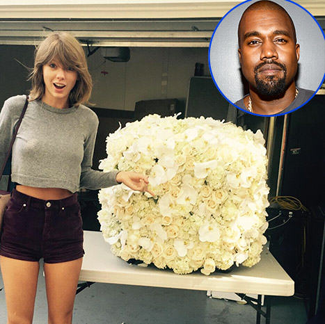 Taylor Swift Gets Flowers From Kanye West, Offers To Be His VP In 2020 UNILAD ts6