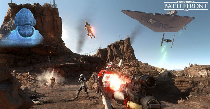 Star Wars Battlefront Beta Is Free To Everyone And Includes Offline Play UNILAD wars32