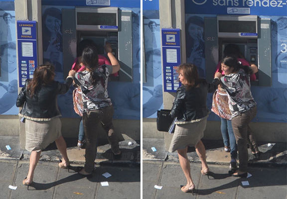 Woman Robbed At Cash Point In Broad Daylight, Nobody Helps UNILAD woman mugged WEB 24