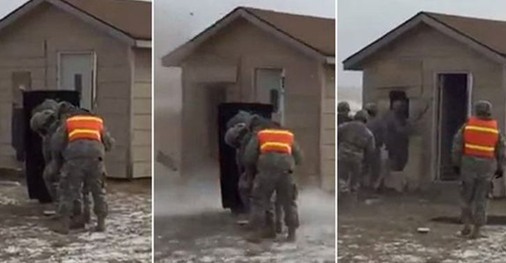 Footage Of Soldier Assault Teams Hilarious Fail Goes Viral ateam fb