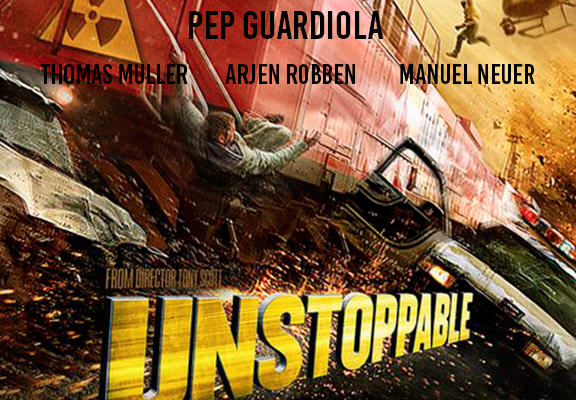 If Football Clubs Were Films, Heres What They Would Be... bayern unstop