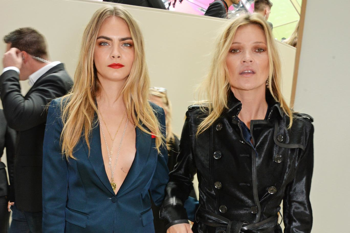 Cara Delevingne And Kate Moss Cause NSFW Stir On Instagram cara crop