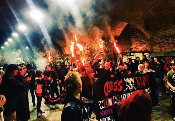 Shoreditch Cereal Café Attacked By Hundreds Of Anti Gentrification Protesters cereal cafe WEB