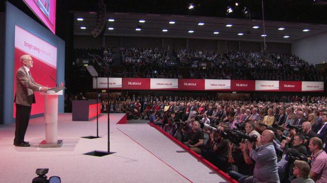 Jeremy Corbyn Claims David Cameron Is The Real Security Risk To Britain corbyn speech 2