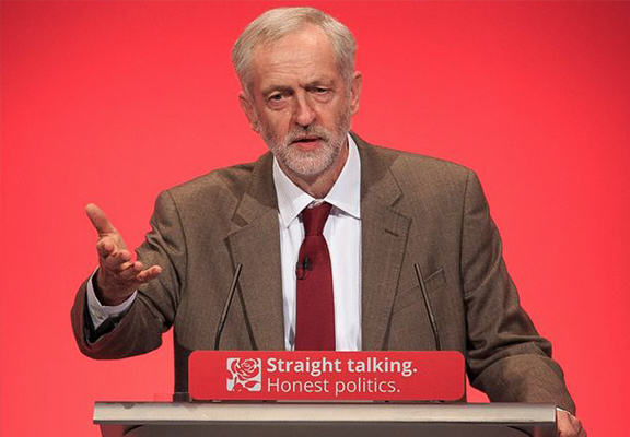 Jeremy Corbyn Claims David Cameron Is The Real Security Risk To Britain corbyn speech WEB1