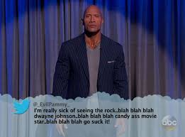 The Rock And Liam Neeson Respond To Mean Tweets Live On Jimmy Kimmel %name