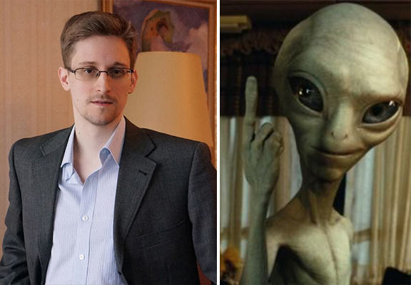 Whistleblower Edward Snowden Reckons Aliens Are Trying To Make Contact With Earth edward snowden aliens WEB