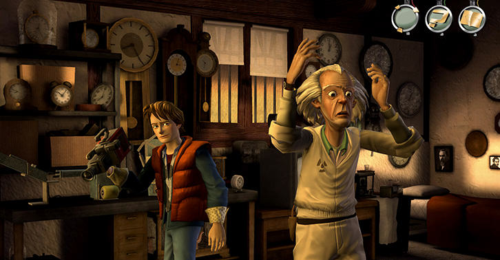 Telltale Re Release Back To The Future Games For Films 30th Anniversary futurefacebook