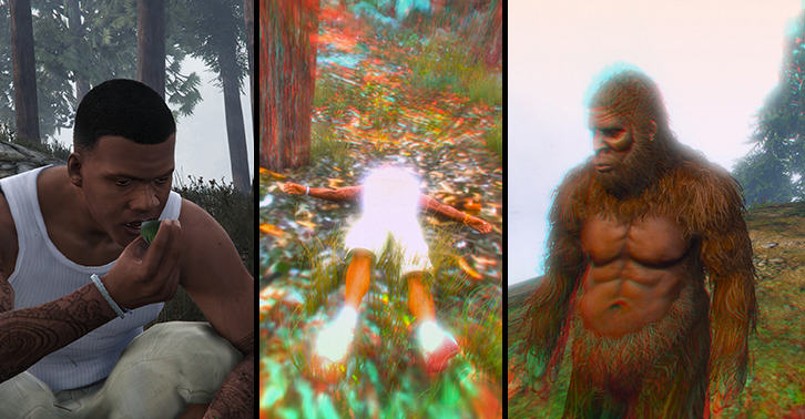 The New GTA Update Adds Bigfoot As A Playable Character gta