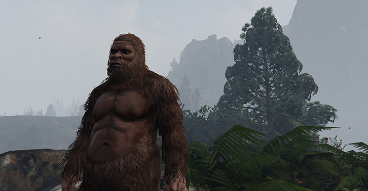 The New GTA Update Adds Bigfoot As A Playable Character gtafacebook1