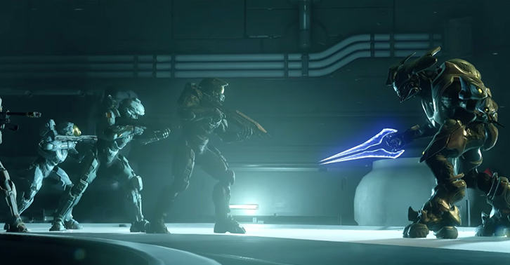 Halo 5 Blue Team Opening Cinematic Shows Master Chief Being Awesome halofacebook1