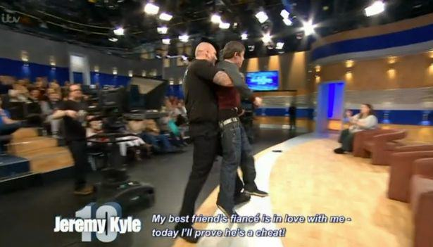 Jeremy Kyle Foursome Who Cant Stop Shagging And Scrapping Removed From Stage jeremy kyle sex 1
