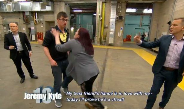 Jeremy Kyle Foursome Who Cant Stop Shagging And Scrapping Removed From Stage jeremy kyle sex 2