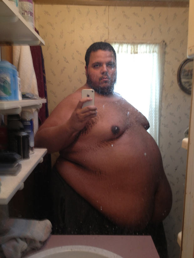 50 Stone Man Trolled Bodybuilders, Ended Up Losing Half His Bodyweight jesse1