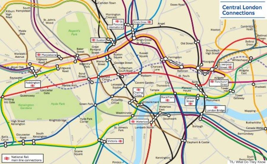 London Underground Rent Map Shows Cheapest And Most Expensive Places To Live In City london prices 7