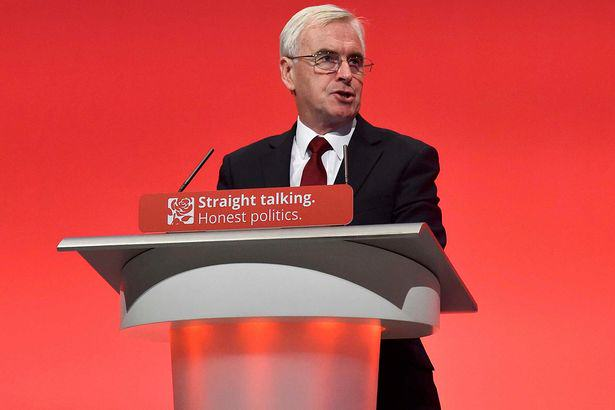 Shadow Chancellor John McDonnell Names And Shames Tax Avoiders In Epic Labour Conference Speech mcdonnell labour 1