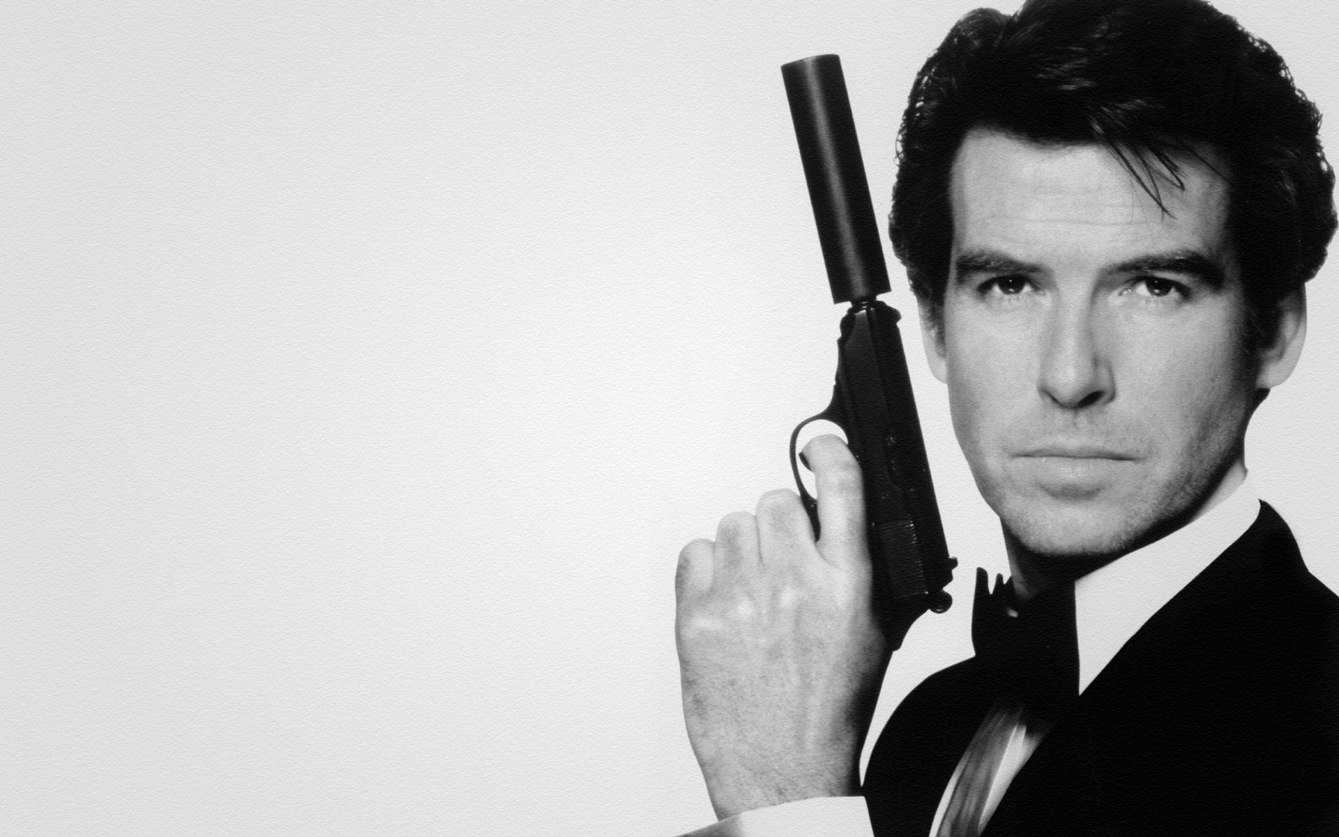 Pierce Brosnan Weighs In On Who The Next James Bond Will Be pierce brosnan pierce brosnan pistol 007 james bond james bond