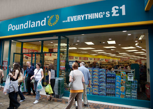 Poundland Remove Controversial Halloween Posters After Complaints They Depict Domestic Violence store front rt1