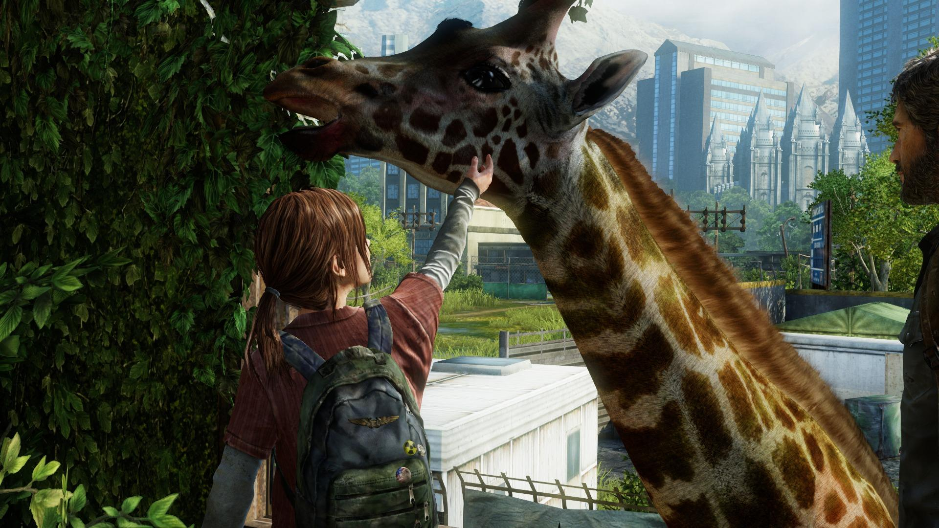 Naughty Dog Confirm The Last Of Us 2 Not Actively In Development the last of us giraffe scene