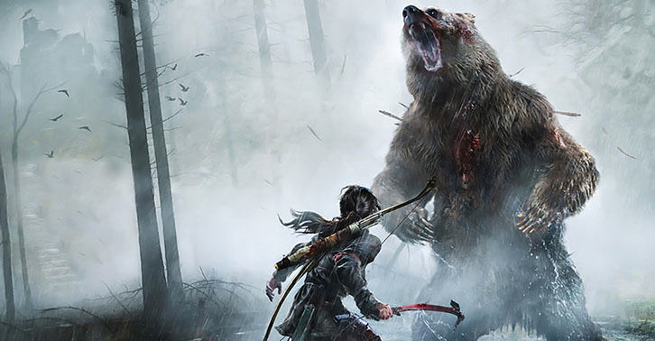 New Rise Of The Tomb Raider Trailer Shows Off Intense Gameplay tombfacebook