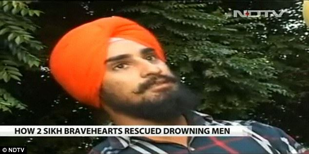 Heroic Sikh Men Used Turbans As Rope To Save Four Boys turban4