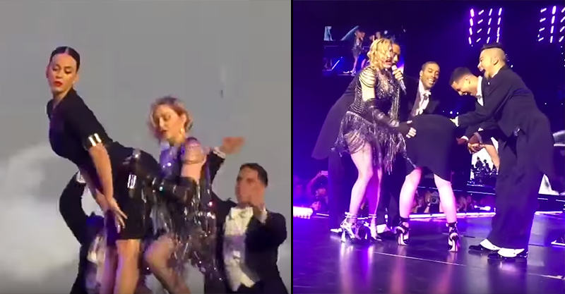 Madonna Humped And Spanked Katy Perry On Stage Last Night, Obviously UNILAD 176425