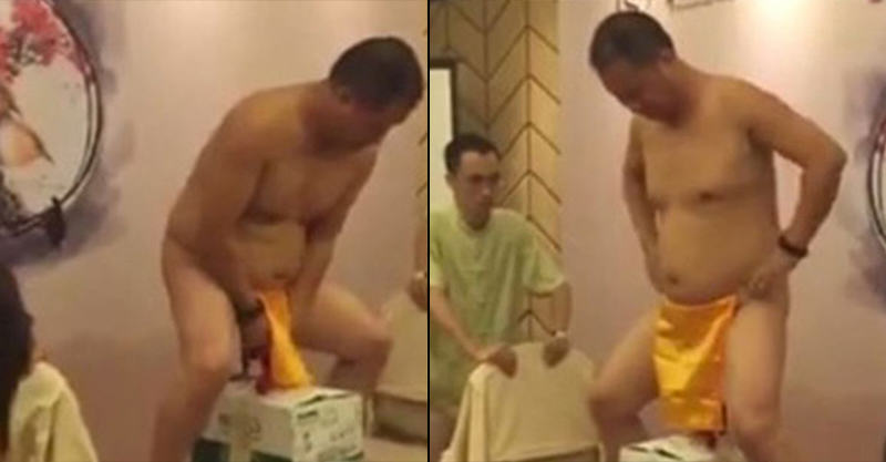 Nope! Man Swings Three Crates Of Beer With His Balls UNILAD 181