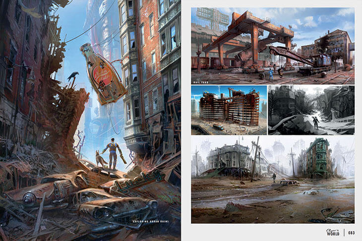 Bethesda Have Released Some Absolutely Beautiful Fallout 4 Concept Art UNILAD 2957265 395437