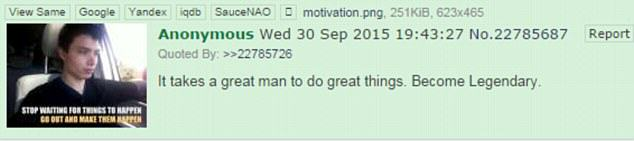 Sinister Anonymous 4Chan Post Before Oregon Shooting Being Investigated UNILAD 2CFC70FF00000578 3256735 image m 38 14437305432692