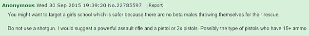 Sinister Anonymous 4Chan Post Before Oregon Shooting Being Investigated UNILAD 2CFC93CA00000578 3256735 image a 26 14437293821866