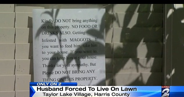 Wealthy Man Forced To Live On His Lawn For Months After Being Locked Out UNILAD 2D28182500000578 3262882 Residents in the suburban community have said that if they try a a 74 14441958820767