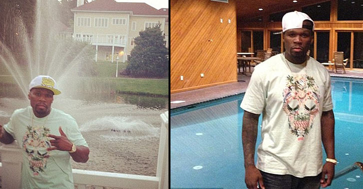 50 Cent Halves Price Of His Mansion To $8.5M As He Struggles To Sell UNILAD 50cent web11