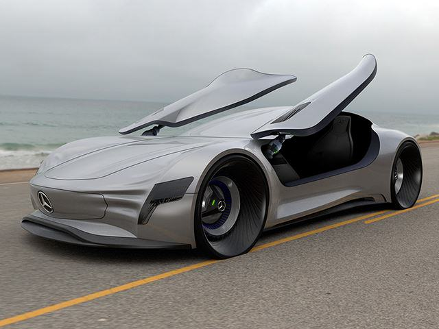This New Mercedes Benz Concept Car Is Absolutely Jaw Dropping UNILAD 52180015
