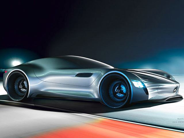 This New Mercedes Benz Concept Car Is Absolutely Jaw Dropping UNILAD 52180311