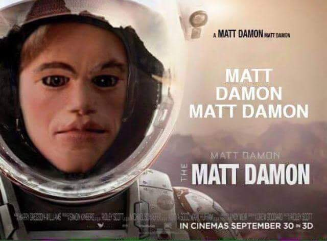 Some Heroes Have Made A GoFundMe To Rescue Matt Damon From Mars UNILAD CCoWUQ312
