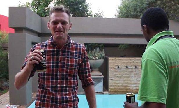 New Tenants Of Oscar Pistorious Murder House Film Weird Tour Video UNILAD David Scott and Kagiso Mokoape netwerk 248