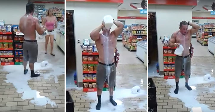 Man Gets Pepper Sprayed, Runs Into Store, Pours All The Milk In His Eyes UNILAD FaceThumb43221